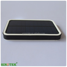 SINOTEK High-end fashion gift 7000mah solar power bank