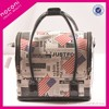 Private label high quality professional pu cosmetic display case cosmetic case