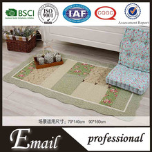 China cotton printed patchwork washable floor carpets for sale