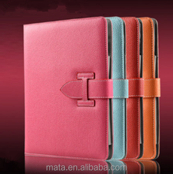 Protective Buckle PU Leather case Tablet Cover Case For Ipad