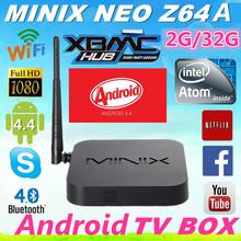 MINIX NEO Z64 Android 4.4 Quad-Core smart MINI PC TV BOX Media player 2GB RAM/32GB ROM Bluetooth 4.0 Wifi Multi-language