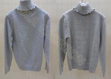 2014 cachemire, flocon de neige enfants chandail pour les filles en tricot col haut à manches longues pull d'hiver