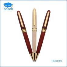 New design wooden pen ,nature color wooden ball pen as gift