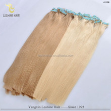 OEM package alibaba China First Selling double drawn cheap 2.5g virgin wholesale remy adhesive tape for tape hair