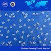 2015 hot sale transparent snowflake printed organza fabric star printed organza fabric for home decor