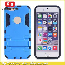 Stand PC Silicone Case For iPhone 6 Kickstand Case