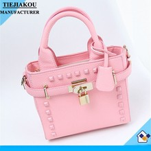 China product lady small fashion handbag pu mini bag for women