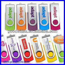 2015 Cheapest model usb flash drive,swivel usb flash drive customized logo for promotional gift
