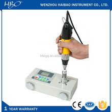Portable digital display high speed electric and pneumatic screwdriver torque tester, torque testing machine