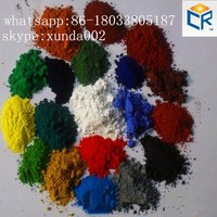 pigment iron oxide and red yellow pigments for asphalt/ bitumen/pitch/cold asphalt