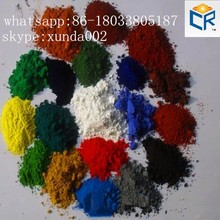 pigment iron oxide and red yellow pigments for asphalt/ bitumen/pitch/cold asphalt