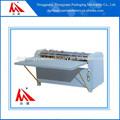 caixa de embalagem de papel separando o slot máquina de corte da caixa de rolamento da linha