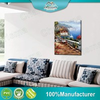 New Scenery Designs Decorative Oil Painting Frameless Polyester 3D Picture Home Decor