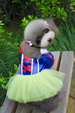 2015 new spring/ summer Court style Snow White dress, dog clothes
