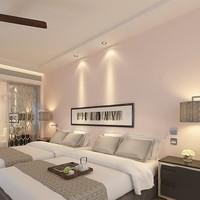 Soundproof wallpaper for home plain colour wallpaper