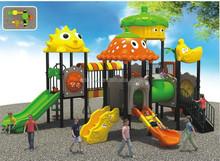 B10205 EN1176 Standard Outdoor Equipment Children Plastic Playground