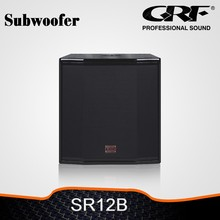 GRF Professional speakers subwoofer 12 inch