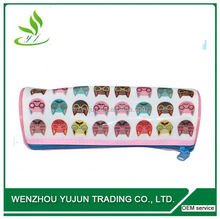 snap button 2-layer pencil case for kids