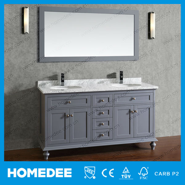 60 Wood Canada Vanity Bathroom With Soft Closing Door And Drawer Buy