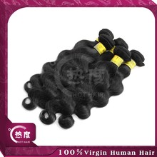 Top grade brazilian italian weave human hair extension body wave 100% mink hair remy hair