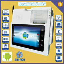 All-in-one Tablet Restaurant POS System with Barcode Scanner,Payment