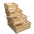 صناديق الفاكهة الخشب الصلب، لم تنته الصلبة صناديق خشب البرتقال، صناديق تخزين الخشب الصلب للبيع