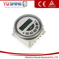 Household Panel Mounted Programmable Time Switch Timer