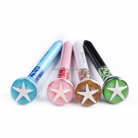 Factory Directly sell Sea Life Ball Pen ball point pen with resin button as promotional gift pen