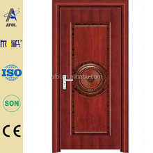 Zhejiang AFOL High Quality Promotion NICE PHOTO STEEL DOOR DESIGN
