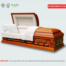 NEW HOPE funeral coffin accessory cheap wood coffin