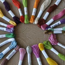 cross stitch dmc cotton embroidery floss