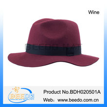 Alibaba wholesale jazz style big floppy man gangster hats for sale