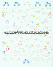 sunny color self-adhesive nail sticker