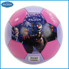 Football Ball Soccer Disney Frozen 2# PVC Machine Sewn,2015 April Monthly Promotion Special Price DAB40029