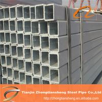 Thin wall steel square tubing/3x3 square hollow metal tube