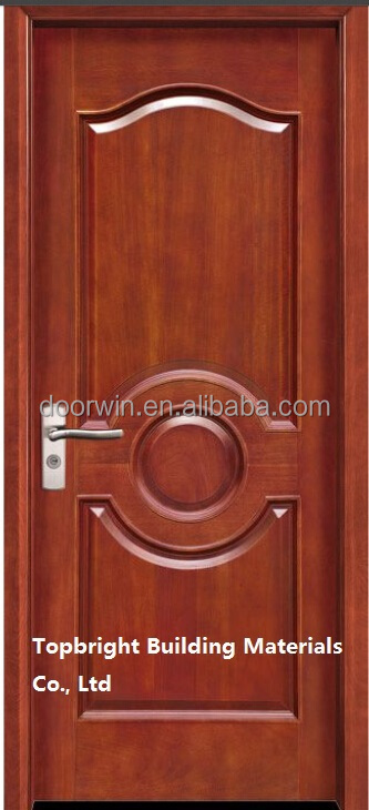 Waterproof Main Door Teak Wood Exterior Door Frame Models