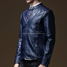 Mens Genuine leather jacket cheap