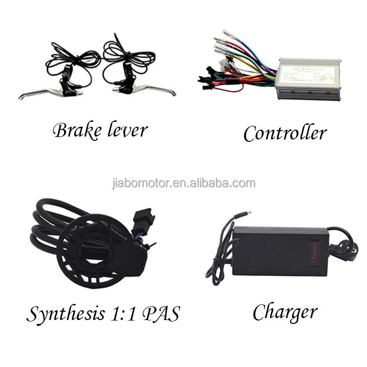 Jb-bpm elektro-bike radnabe motor 500w kit diy mit batterie
