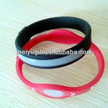 custom slap bracelets/ personalized silicone bracelet