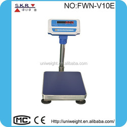 2015 high quality cheap wireless platform price scale sensitive weighing scale 150 platform scale