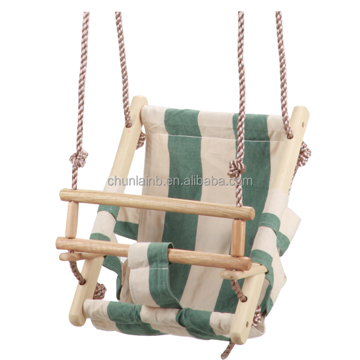Wood Baby Swing Seat Canvas Swing Folding Baby Swing   Buy Wooden ...