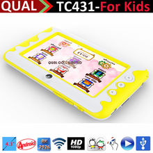 4.3 inch kids tablet toy!! android tablets with Rockchip 2926 Cortex A9 1.3GHz 480*272 Pixels HD Screen Q