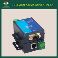 1 Port RS232/485/422 DB9 to Ethernet Serial Device Server----OEM Manufacturer
