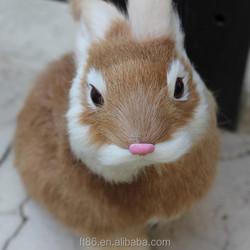 rabbit figurines home decoration velveteen rabbit plush toy