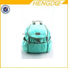 Design branded korean diaper backpack bag