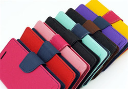 12 kinds colours for iphone 6 4.7inch mercury phone case with TPU holder stander and credit card holder