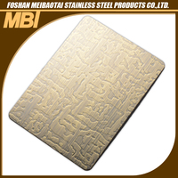 304 Etching stainless steel restaurant kitchen wall panels