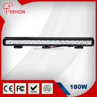 light bar type 180 watt led offroad light, 180w offroad led light bar