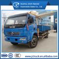 Dongfeng DLK 3.2 T camión grúa hidráulica venta, knuckle brazo de la grúa camión, grúa de los fabricantes de camiones