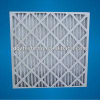 MERV8 paper frame Pleat air filter pre filter furnace filter